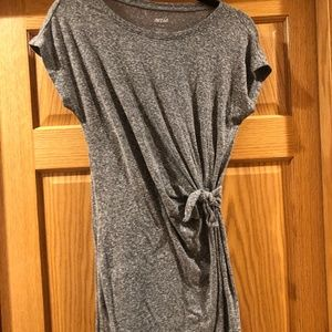 AE Grey Side Knot Dress